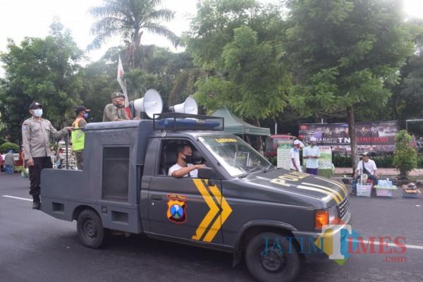 Kasus Covid-19 di Bondowoso Meningkat, Polisi Masifkan Edukasi Protokol Kesehatan