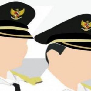 Serah Terima Nota Pelaksanaan Tugas Pjs Bupati pada Bupati Mojokerto 2020