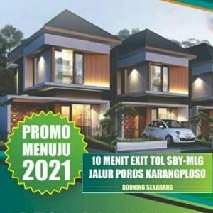 Beli Rumah di Taman Tirta Karangploso, Developer yang Bayar!