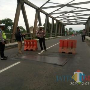 Jembatan Karangrejo Ambles, Ini Pengalihan Arusnya