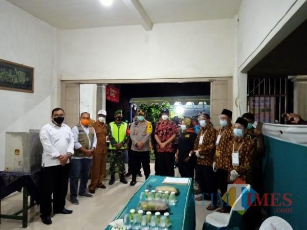 Pastikan Kesiapan Coblosan, Forkopimda Kabupaten Blitar Cek Kesiapan TPS