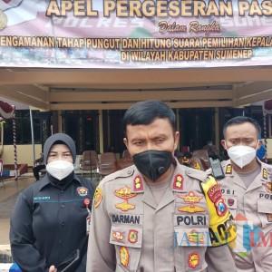 H-1 Pencoblosan, Polres Sumenep Terjunkan 893 Personel Amankan 2.500 TPS