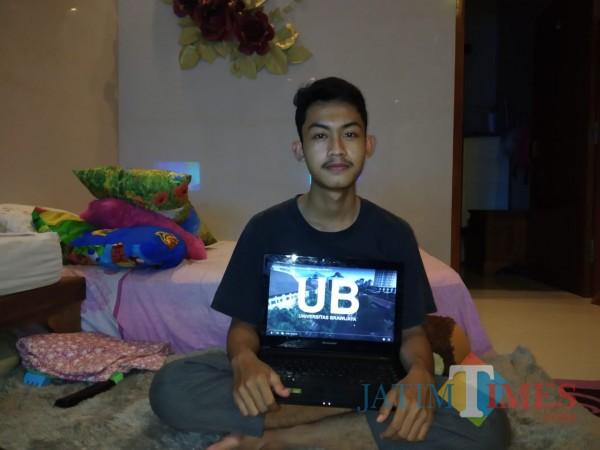 Mahasiswa Baru UB Asal Banyuwangi Memendam Rasa Rindu Nikmati Suasana Kota Malang