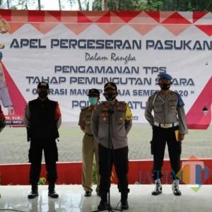 Jelang Pilkada, Polresta Batu Kerahkan 265 Personel untuk Amankan Setiap TPS