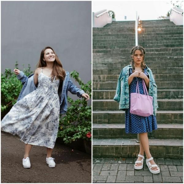 Cantiknya Penampilan Marsha Aruan Pakai Dress Jadi Outfit Harian