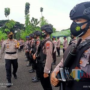 4.085 Personel Gabungan Amankan Pilbup Ngawi, Awasi Penerapan Protokol Kesehatan