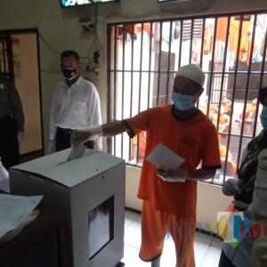43 Warga Kabupaten Malang Coblos di Penjara Polres Malang