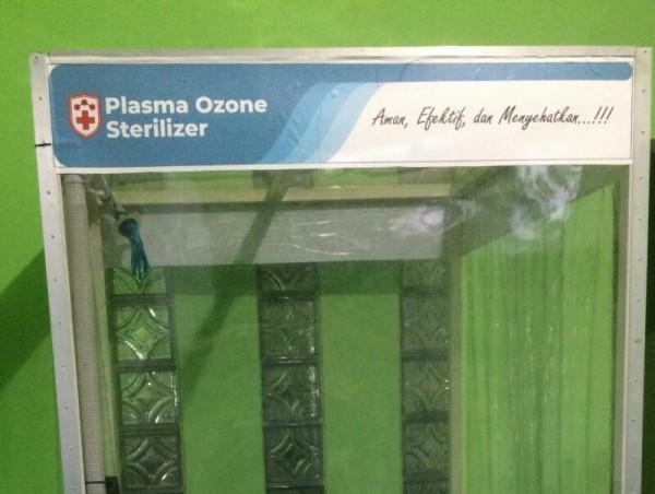 Salah satu bentuk Plasma Ozone Sterilizer buatan Eka Maulana ST MT MEng. (Foto: istimewa)