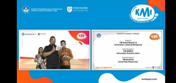 Pengumuman anugerah atau award ASMI yang dilakukan secara virtual (Ist)
