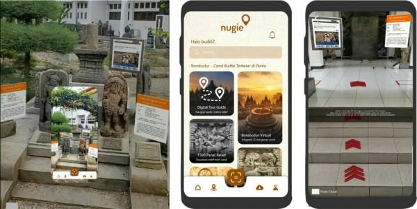 Aplikasi Nugie, Bawa Wisatawan Nikmati Cagar Budaya seperti di Dunia Nyata