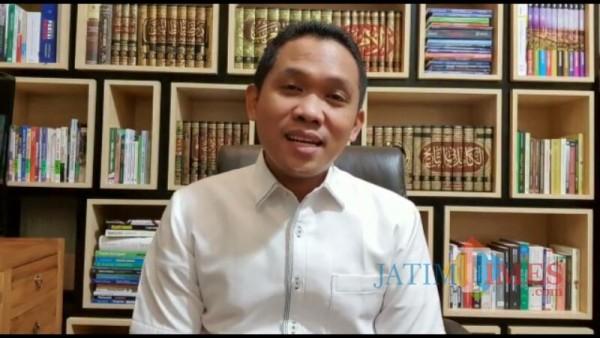 Bupati Lumajang H. Thoriqul Haq mengumumkan sendiri bahwa dirinya positif Covid-19 (Foto : Moch. R. Abdul Fatah / Jatim TIMES)