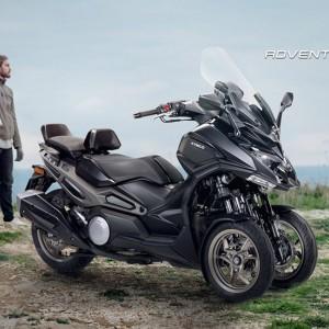 Kymco Kenalkan CV3, Motor Roda Tiga Bergaya Adventure, Begini Tampilannya
