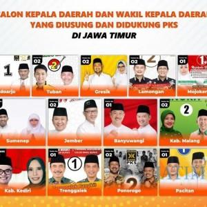 PKS Jatim Bersyukur Penuhi Target Kemenangan Pilkada
