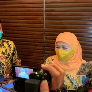 Kasus Covid-19  Tinggi, Gubernur Khofifah Imbau Pesta Tahun Baru Ditiadakan