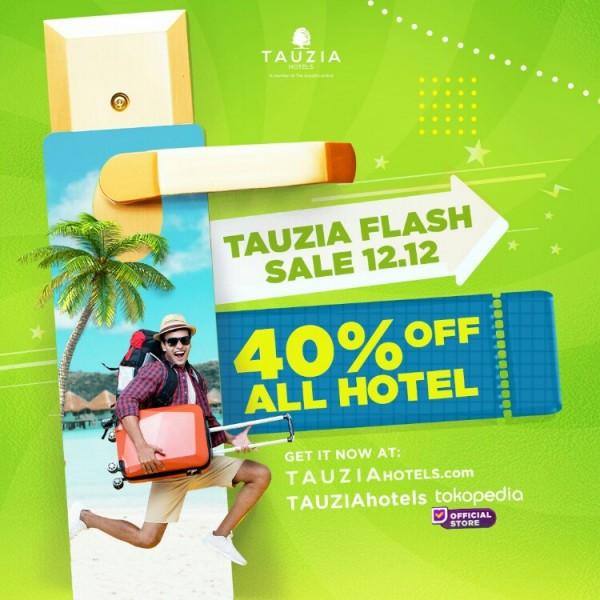 TAUZIA flash sale 12.12. (Foto: istimewa)
