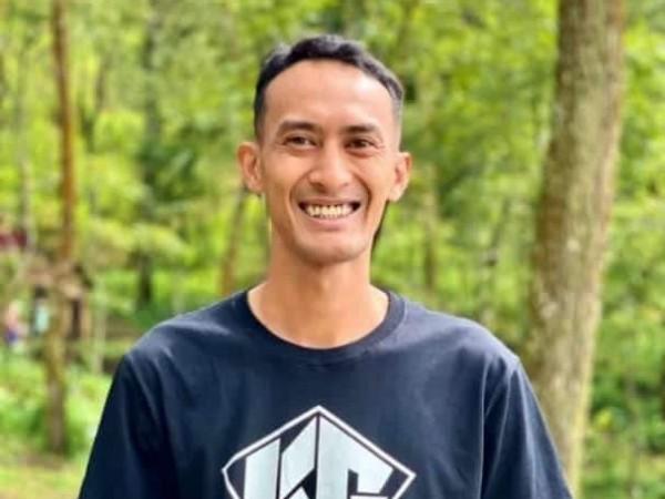 Ahamrhum Chrisdian Mardianto alias Killim, pelatih downhill Kota Batu. (Foto: istimewa)