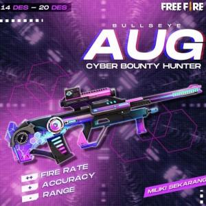Free Fire Keluarkan AUG Cyber Bounty Hunter, semakin Boyaah