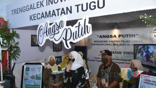 Istri Bupati Trenggalek, Novita Hardini Buka Trenggalek Inovation Fest 2020