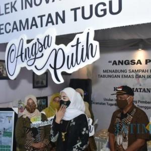 Buka Trenggalek Inovation Fest 2020, Ketua Dekranasda Minta Bisa Tingkatkan Etos Kerja
