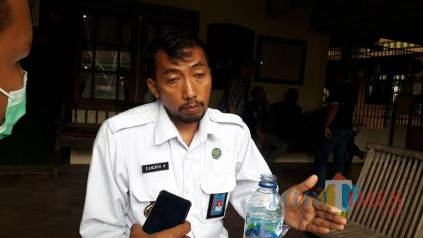 Kepala BNN Kabupaten Malang, Letkol Laut PM Candra Hermawan saat ditemui awak media di sela-sela acara di Kepanjen, Senin (14/12/2020). (Foto: Dok. JatimTimes)