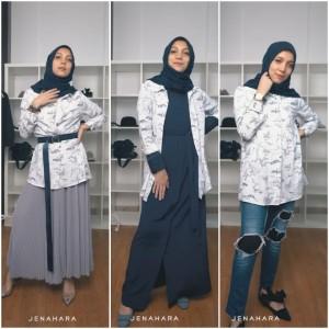 1 Kemeja 3 Gaya, Padu Padan Simpel Ala Fashion Designer Jenahara Ini Gampang Ditiru