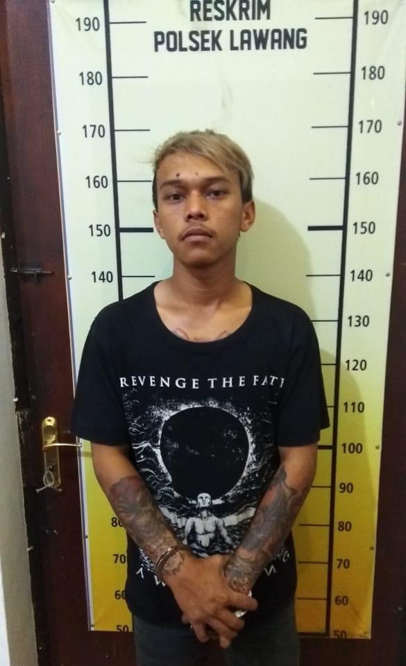 Mukik (23), DPO peredaran pil yang ditangkap Polsek Lawang (istimewa)