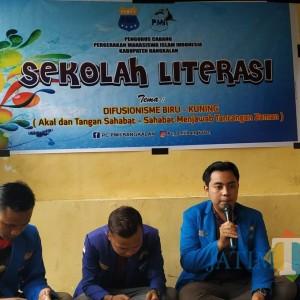 Gelar Sekolah Literasi, PMII Inginkan Kadernya Jadi Penyebar Virus Literasi di Bangkalan