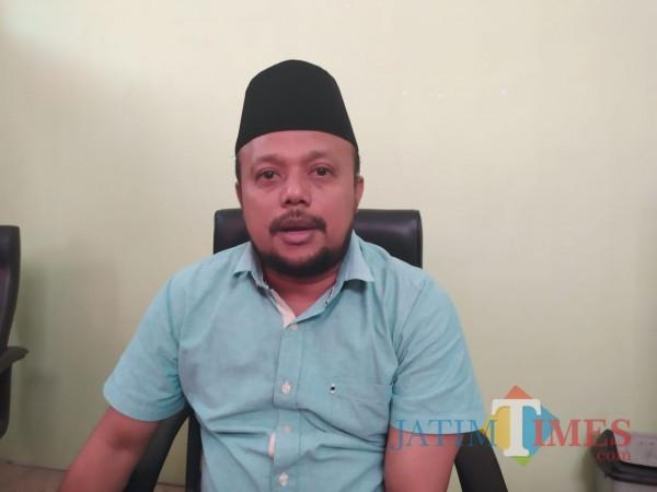 Komisioner Komisi Pemilihan Umum (KPU) Kabupaten Sumenep, Rafiqi (Foto doc. Syaiful Ramadhani/JatimTIMES)