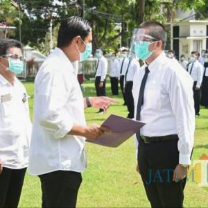 Wali Kota Kediri Serahkan SK CPNS kepada 111 Orang