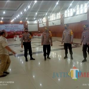 Polres Ngawi Kerahkan 115 Personel Amankan Rapat Pleno KPU