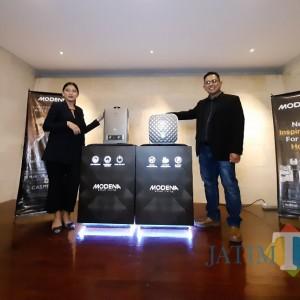 Miliki Pasar Cukup Apik, Water Heater Karya Christian Sugiono Diluncurkan di Kediri