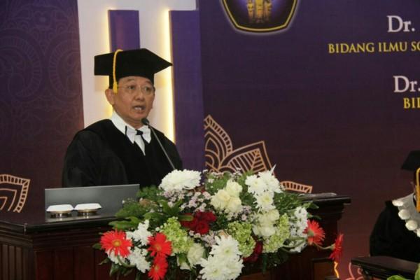 Profesor Bidang Sosiologi Pemerintahan UB, Prof Dr Drs H Luqman Hakim MSc. (Foto: Humas)
