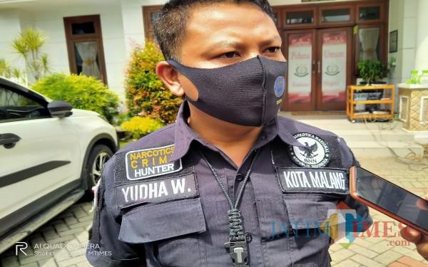 Kabag Umum BNN Kota Malang, Yudha Wirawan (Anggara Sudiongko/MalangTIMES)