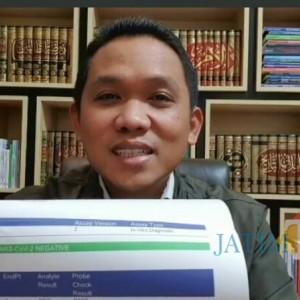 Hasil Swab Bupati Lumajang H. Thoriqul Haq Dinyatakan Sembuh dari Covid-19