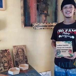 Modal Nekat, Pemuda Kota Kediri Sulap Limbah Kayu Menjadi Kerajinan Bernilai Tinggi