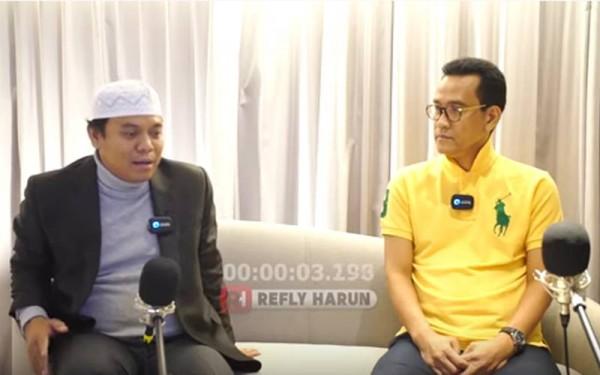 Refly Harun Dipoliskan Terkait Unggahan Video Colab Bersama Sugi Nur
