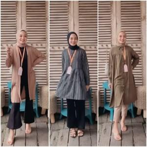 6 Inspirasi Office Look Simple tapi Tetap Modis Ala Hijabers Desiana Suryani
