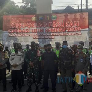 Cegah Lonjakan Covid-19 di Perayaan Nataru, Polresta Malang Kota Bangun 5 Pos Pengamanan