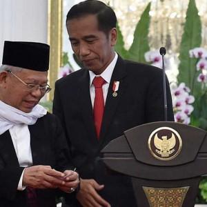 Pertemuan 4 Mata Jokowi-Ma'ruf Bahas Reshuffle, Inikah Nama-nama Calon Menteri Baru?