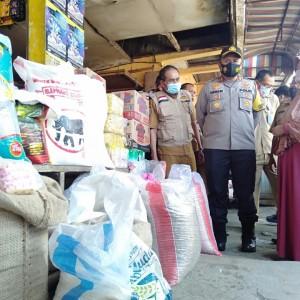 Polres Malang Bersama Satgas Pangan Sidak Pasar Kepanjen