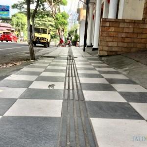 Trotoar Ramah Disabilitas di Kota Batu Baru Jadi 30 Persen