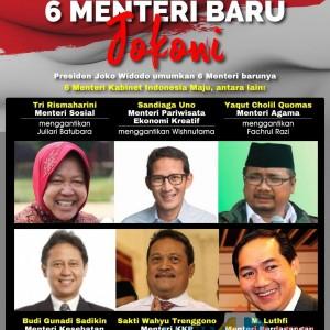 Mengintip Harta Kekayaan 6 Menteri Baru Kabinet Indonesia Maju, Siapa yang Paling Kaya?