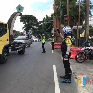 Masuk Libur Nataru Hari Pertama, Volume Kendaraan di Kota Malang Naik 30 Persen