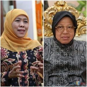 Gubernur Khofifah Perintahkan DPRD Surabaya Rapat Paripurna Penghentian Risma