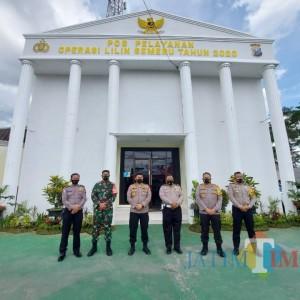 Tinjau Pos Yan Karanglo,Tim Pamatwil Korlantas Polri Apresiasi Langkah Polres Malang