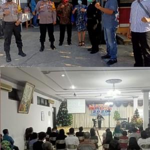 Ibadah Natal di Ngawi Berlangsung dengan Protokol Kesehatan Ketat