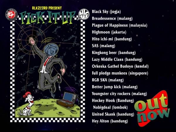 """Poster peluncuran album kompilasi """"Pick It Up"""" yang dirilis oleh RLKZCORD. (Foto: Dok. RLKZCORD)"""