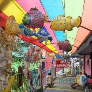Kampung Warna-Warni Jodipan Sepi Pengunjung di Libur Panjang Akhir Tahun