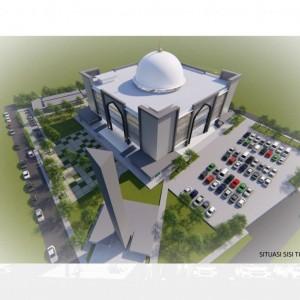 UM Bakal Rombak Masjid Al-Hikmah, Tambah Kapasitas Jamaah hingga 8000