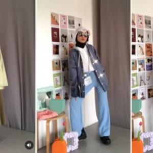 Inspirasi 6 Days Outfit With Parka Ala Hijabers Inas Rana
